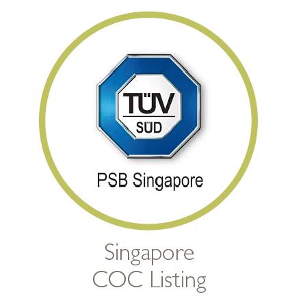 Singapore COC Listing